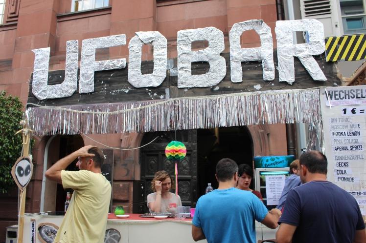 ufo bar badisches Kunstverein kamuna