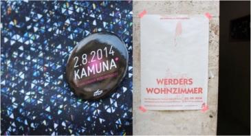 Kamuna und Werders Wohnzimmer2014