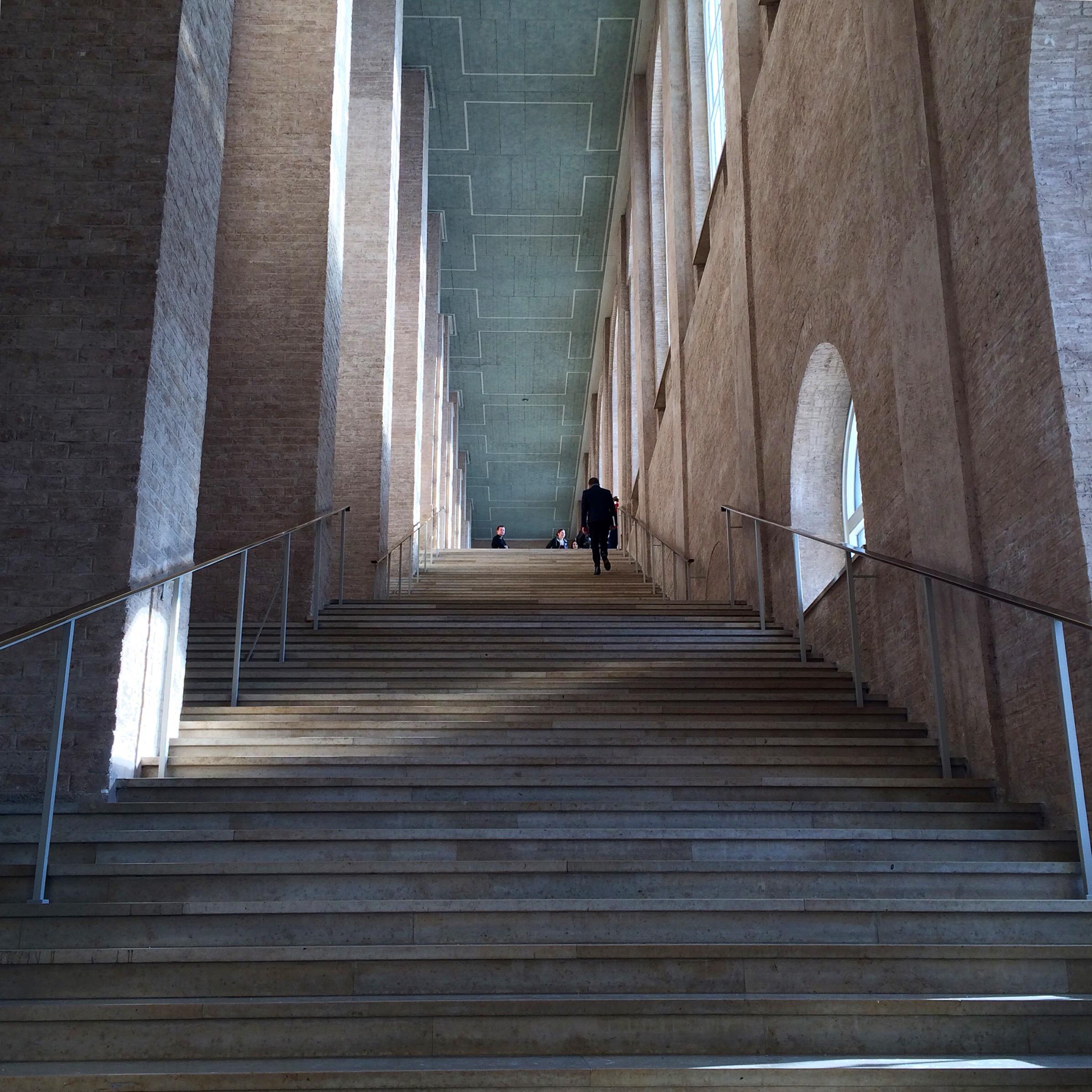 Treppen München museumsmarathon in münchen beschderblog