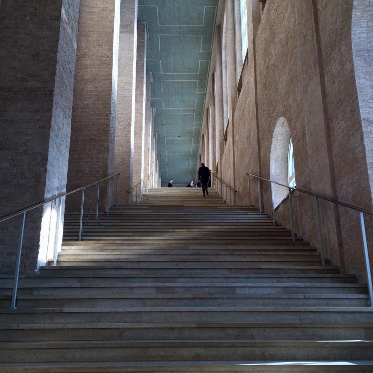 alte Pinakothek München Treppe