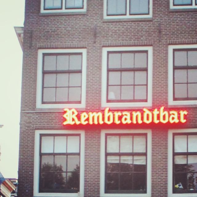 amsterdam rembrandtbar