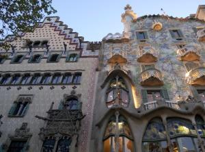 Casa Batllo Antoni Gaudi Barcelona