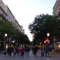 Ramba de Catalunya Barcelona