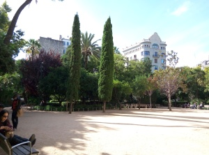 Jardin del Palau Robert Barcelona