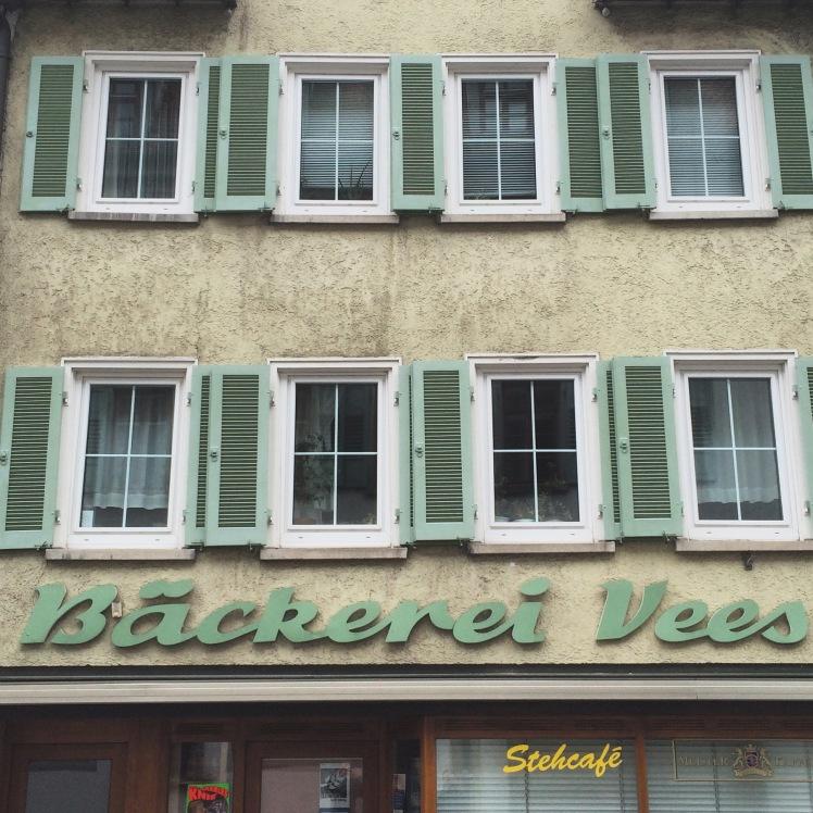 Typography Bäckerei Vers Rottenburg am Neckar