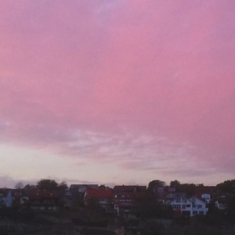 Rottenburg am Neckar Abendsonne