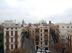 Valencia Blick vom Stadttor
