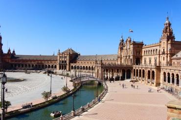 Plaza de Espana Sevilla Andalusien