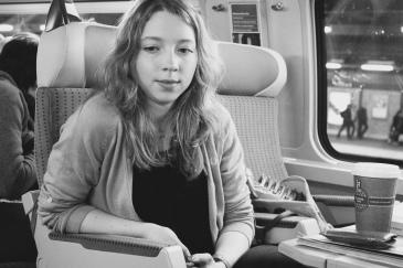 im TGV nach Paris, lange ist's her ...
