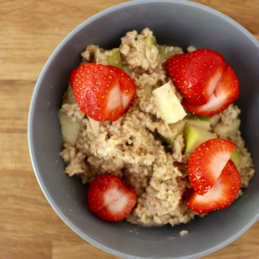Porridge vegan