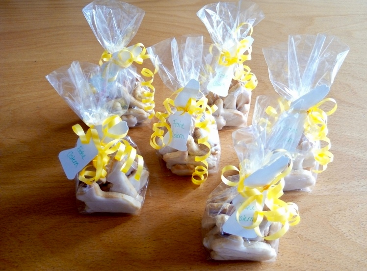 Osterhasen Kekse Zitrone Mürbeteig