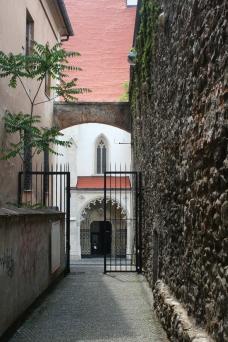 Bratislava Altstadt, Stadtmauer