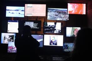 documenta 14 Bahnhof tv Videoinstallation