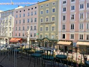 Terrasse des Café Tomaselli